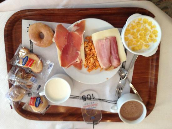 Hotel Planas: завтрак