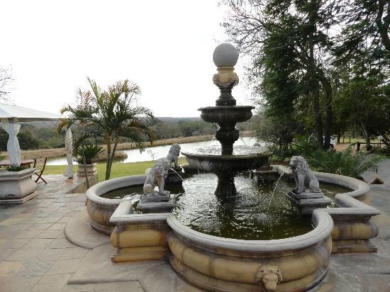 Elandela Private Game Reserve: Fuente en el parque