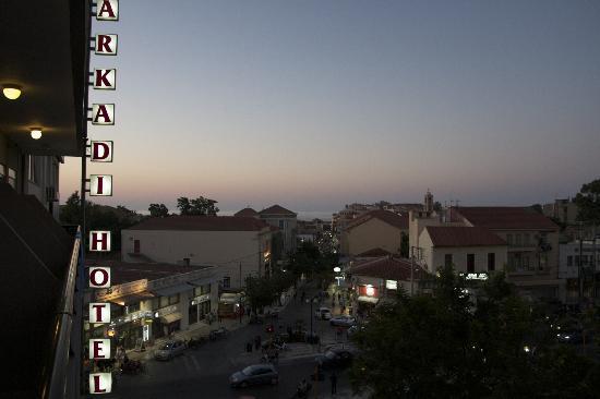 أركادي هوتل: Arkadi Hotel -the view from my room 