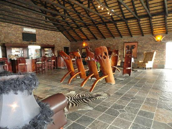 Elandela Private Game Reserve: Salon de estar