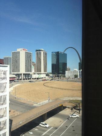 ذا ويستن سانت لويس: View from window 