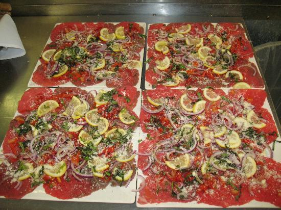 Victorian Inn: beef carpaccio