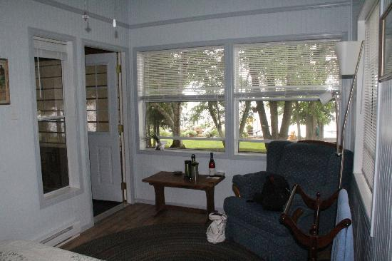 Howe Island B&B: The room with a view