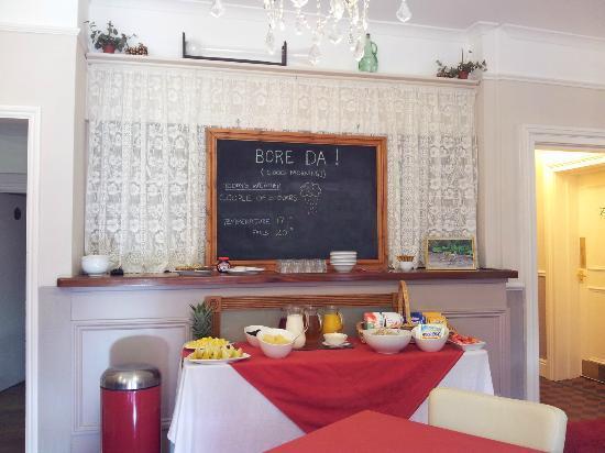 Bryn Artro Country House : Breakfast