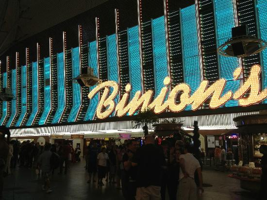 Binion's Gambling Hall : Fremont Street