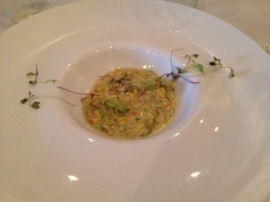 "Flight Chicago: Our favourite dish of the tour ""corn risotto"" at Mexique"