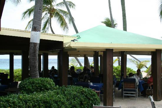 The Palms at Pelican Cove: The dining area, breakfast every morning