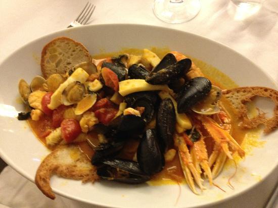 Ristorante Mare - Artigiani del Pesce: Fish soup