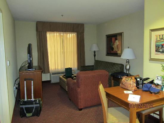 Homewood Suites by Hilton Champaign-Urbana: Sitting area