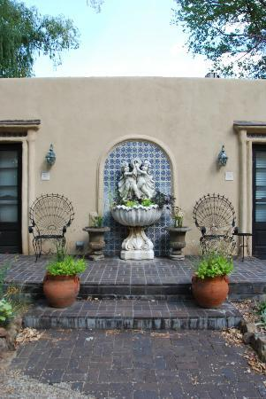 Palacio de Marquesa: fountain