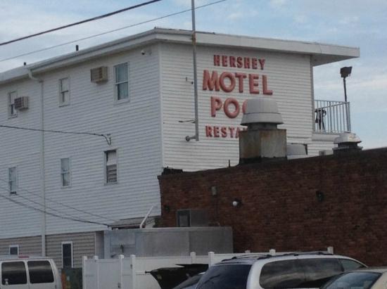 Hershey Motel : Outside of hotel