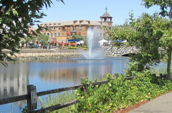 Holiday Inn Express El Dorado Hills Hotel : Guests can walk to Town Center shopping areas.
