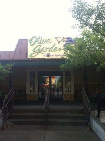 Olive Garden: south on college ave