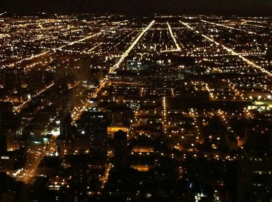 360 Chicago Observation Deck: City View