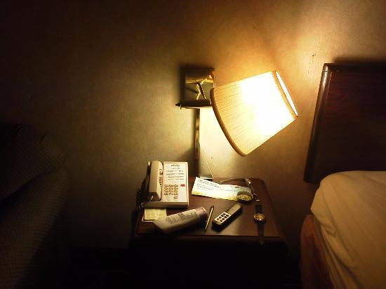 Days Inn St. Louis North : Fallen Wall Lamp