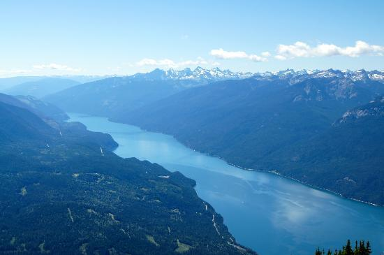 Mountain Trek Fitness Retreat & Health Spa: View from Idaho Peak