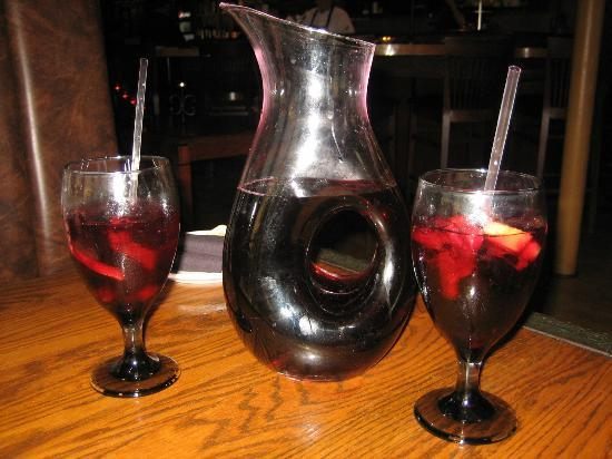 Chill Restaurant & Bar: Pitcher of house sangria