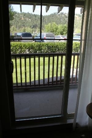 St. Eugene Golf Resort & Casino: Room balcony - View