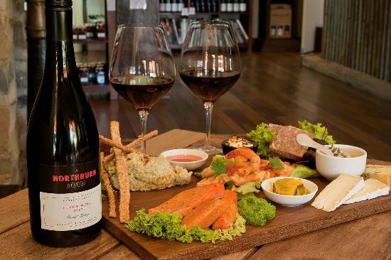 Appellation Wine Tours: Lunch at Northburn Station on our Gourmet Wine Tour
