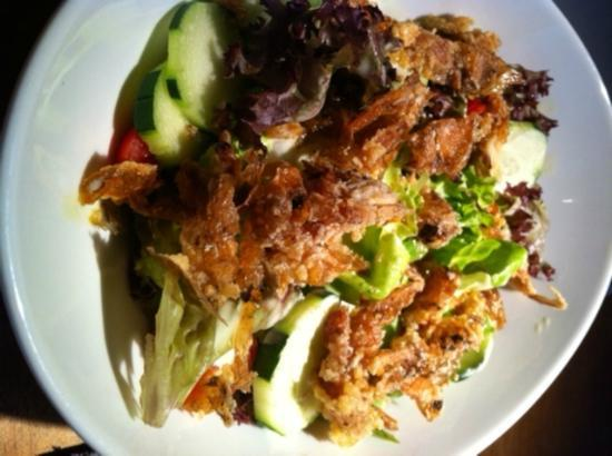 PLOY : Soft shell crab salad
