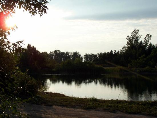 Tobermory Village Campground: south pond
