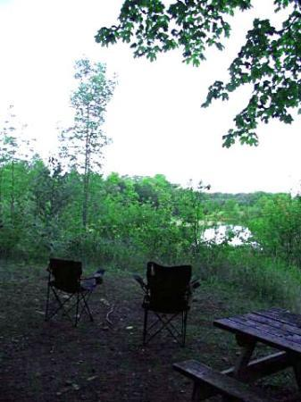 Tobermory Village Campground: view from campsite