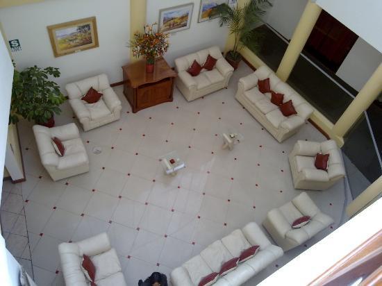 Hotel Fundador: Sala de estar