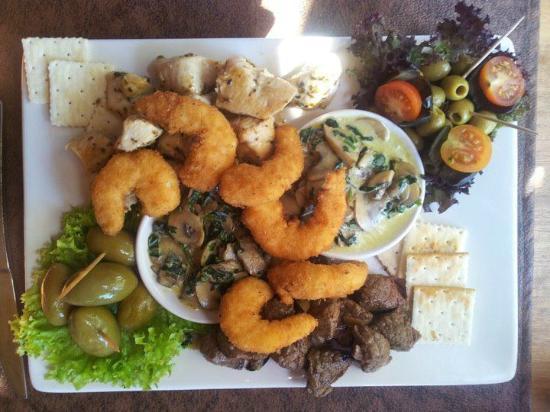 Aqui Jaime Restaurante: exquisita tabla del chef solo en viña del mar .
