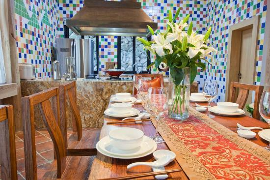 The Mystic Mogan Hotel: The Mystic Open Kitchen