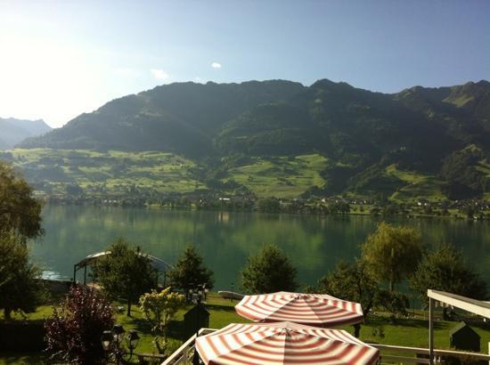 Parkhotel Waldheim: Aussicht vom Balkon