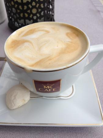 Kossak Hotel: free morning coffee on rooftop terrace