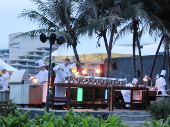 MGM Grand Sanya: Neera restaurant - BBQ buffet