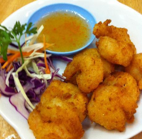 Thai Chilie: Shrimp Tempura