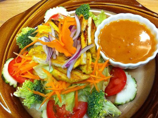 Thai Chilie: Thai Chicken salad