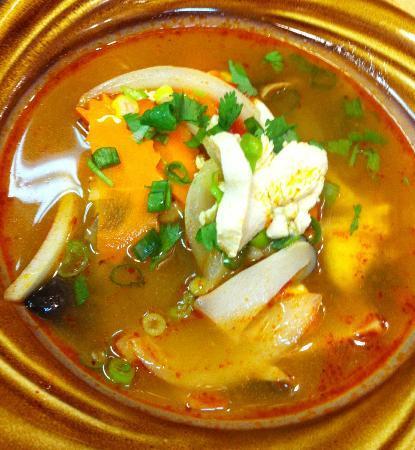 Thai Chilie: Tom Yum Soup