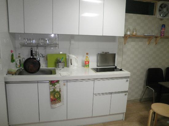 Namdaemun Guesthouse Seoul: Kitchen