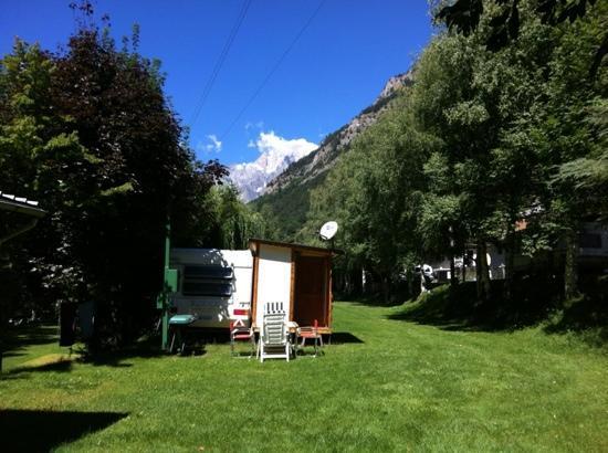 Morgex, Italy: una delle piazzuole