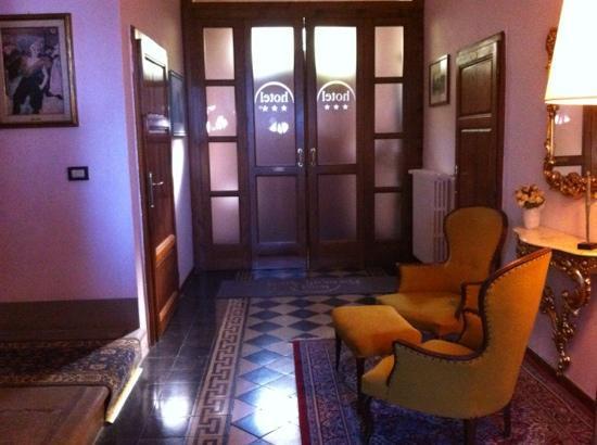 Villa Porta all'Arco: ingresso