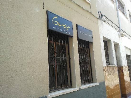 Restaurant El Groc: Fachada