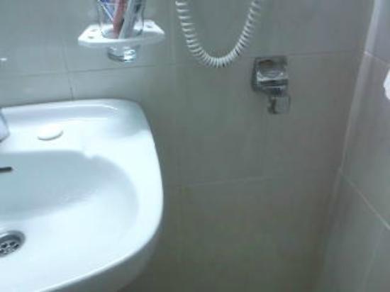 La Carabela Hotel : toallero sin enganche