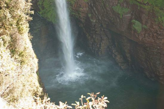 Sabie, Zuid-Afrika: Down the bottom of the falls