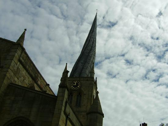 Chesterfield Parish Church/Crooked Spire: It looks more crooked than this.