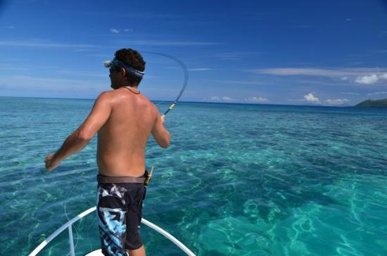 fly fishing for reef species - Picture of Sportfish Vanuatu