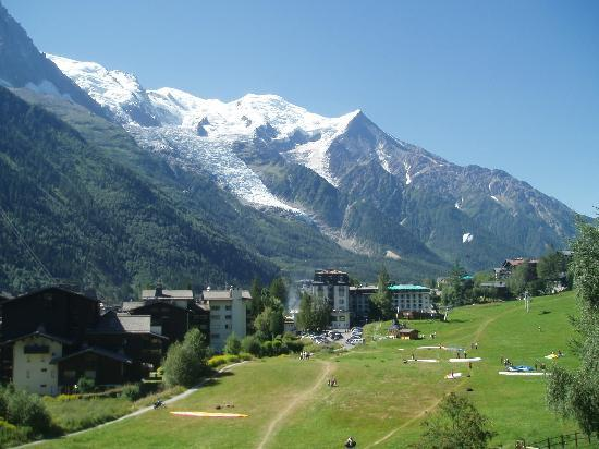 La Sapiniere : view from most of the rooms, the best in Chamonix!