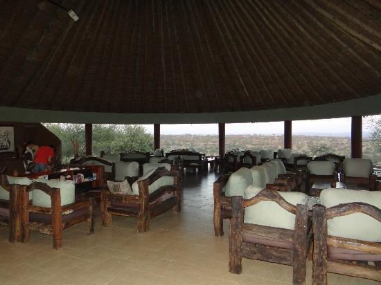 Tarangire Safari Lodge : reception area