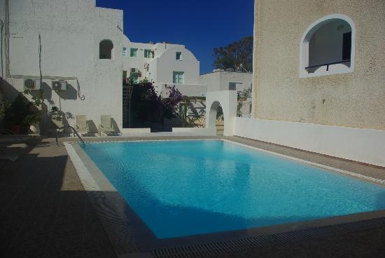 Villa Vergina: piscine