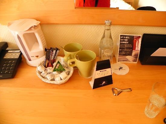 Profilhotels Hotel Uppsala: Tea/coffee and free water
