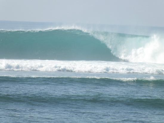 Wave Guru Bali Surf Camp: Spot X (trashed my semi gun board there, solid wave!)