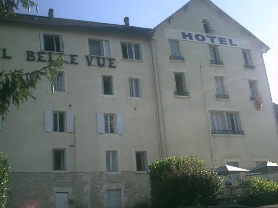 Hotel Belle Vue: vue de l'hotel