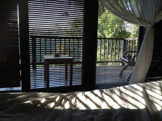 Nandini Jungle Resort & Spa Ubud: Room in the morning